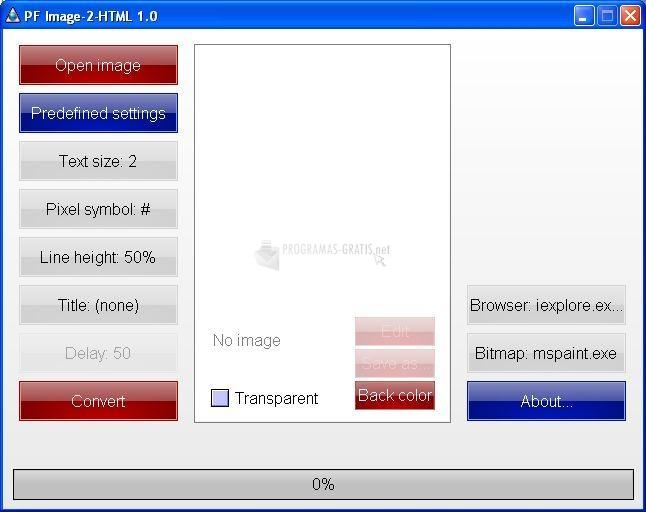Pantallazo PF Image 2 HTML