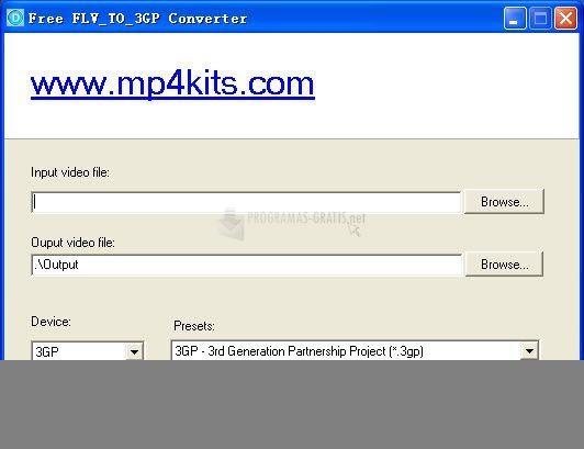 Foto Free FLV to 3GP Converter