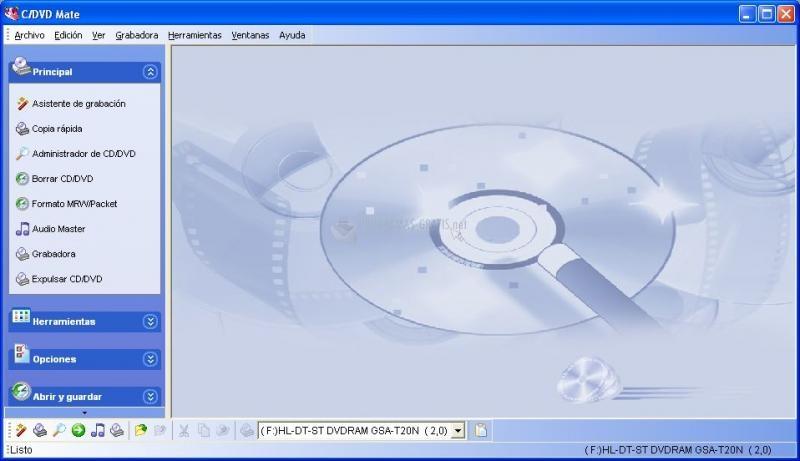 Pantallazo C/DVD Mate Professional