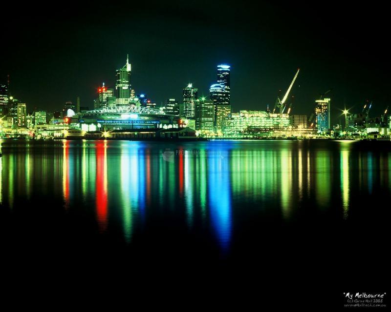Pantallazo Melbourne nocturna