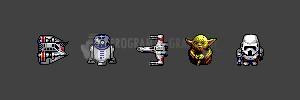 Pantallazo Iconos Star Wars Pack 1