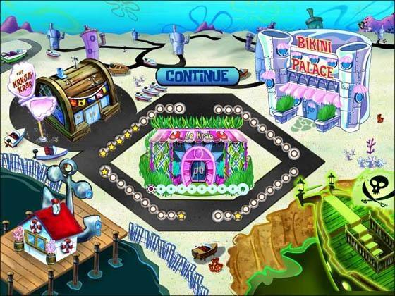 Pantallazo SpongeBob Diner Dash