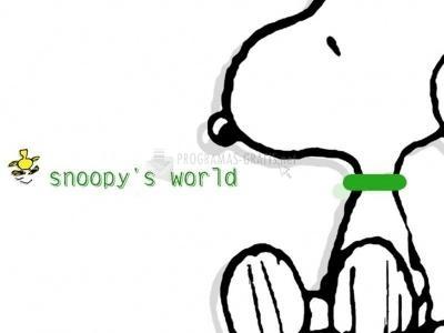 Pantallazo El mundo de Snoopy