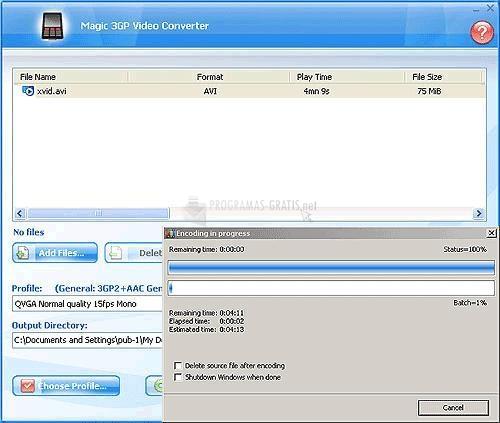 PSP VIDEO MP4 ALLOK CONVERTER TÉLÉCHARGER GRATUIT IPOD 3GP