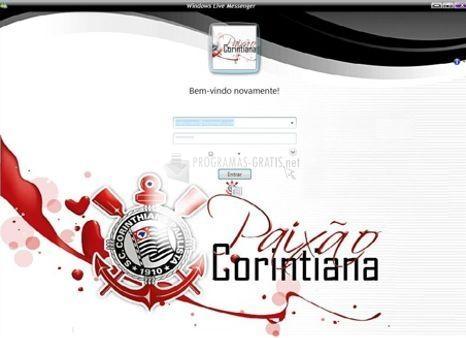 Pantallazo Skin Corinthians