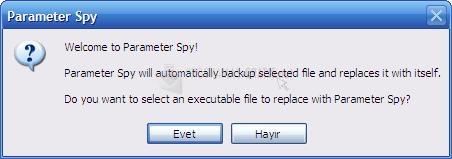 Pantallazo Parameter Spy