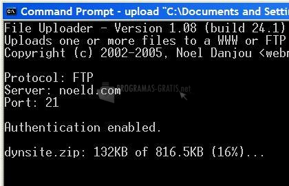 Pantallazo File Uploader