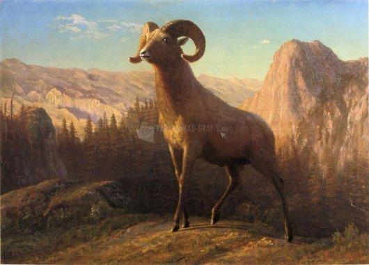 Pantallazo Albert Bierstadt Painting