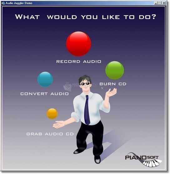 Pantallazo Audio Juggler