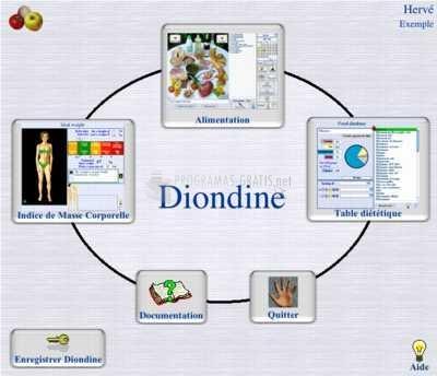 Pantallazo Diondine