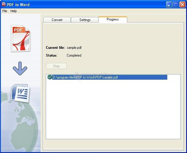 Captura PDF to Word converter