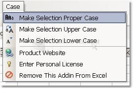 Pantallazo Excel Case