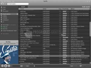 Pantallazo Spotify