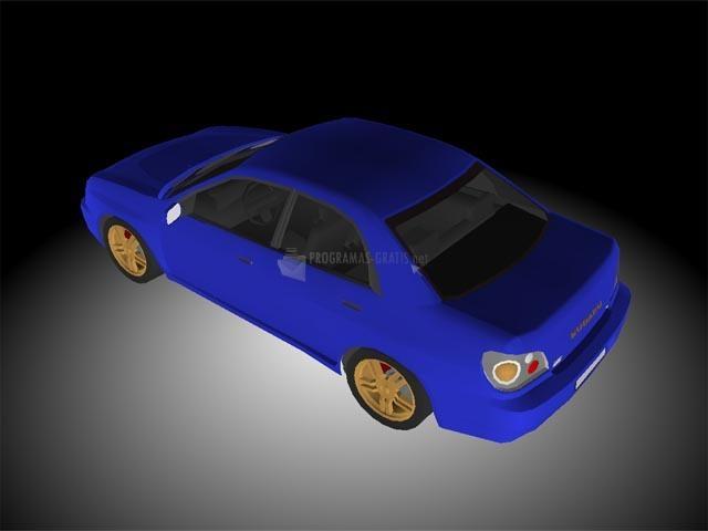 Pantallazo Cars Show 3D Screensaver