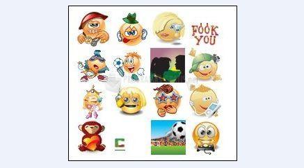 Pantallazo Emoticons Smileys