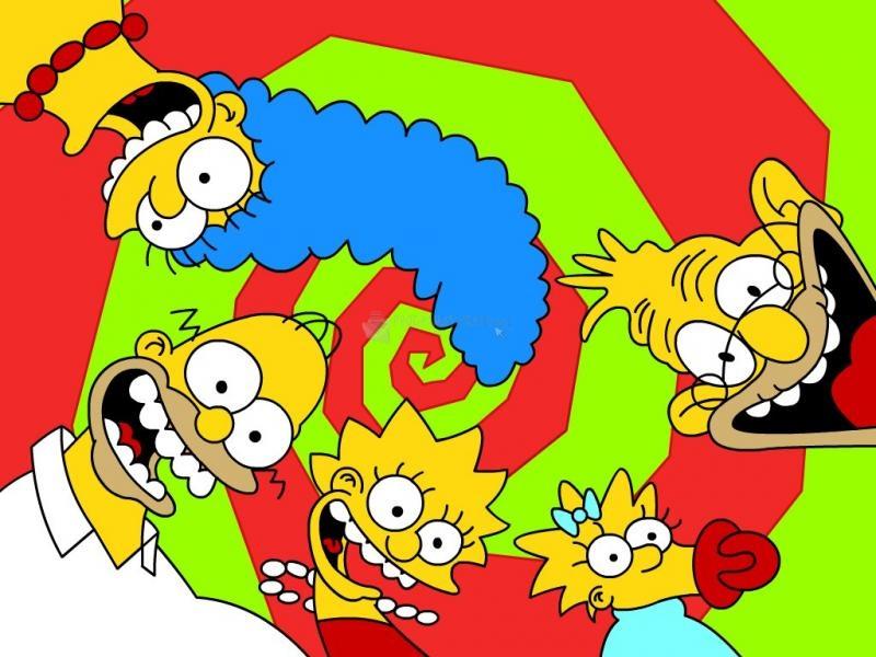 Pantallazo Alocados Simpsons