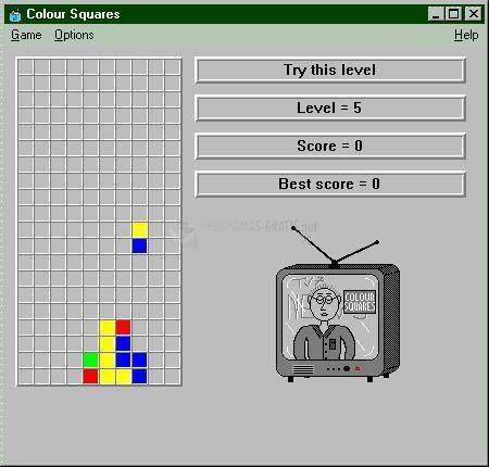 Pantallazo Colour Squares