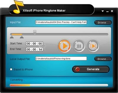Pantallazo iPhone Ringtone Maker