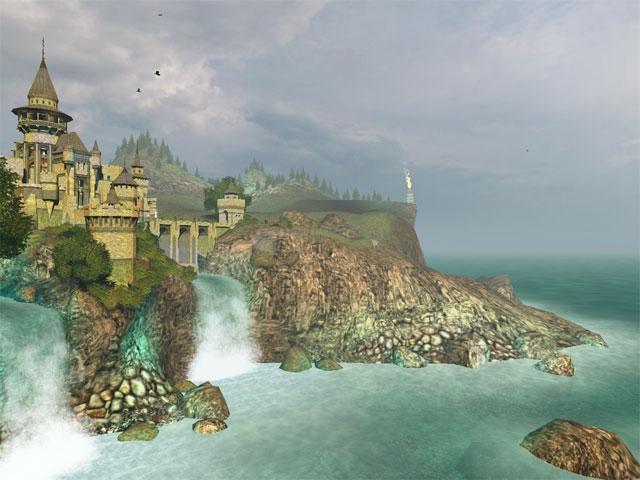 Pantallazo Ancient Castle 3D Screensaver