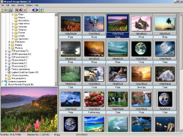 Pantallazo Altarsoft Image Viewer