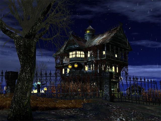 Pantallazo 3D Haunted Halloween Screensaver