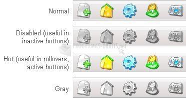 Pantallazo 3D Aqua Icons Demo