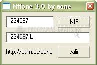 Pantallazo Nifone