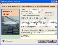 Pantallazo Cadkas CD to MP3 Ripper