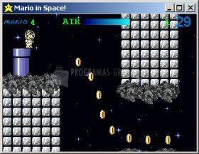 Pantallazo Mario in Space
