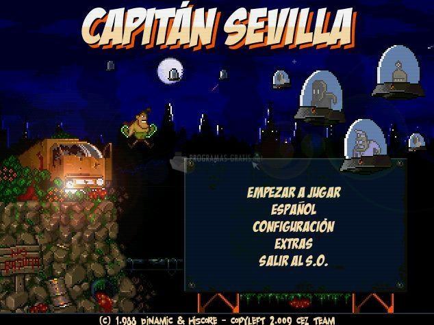 Pantallazo Capitán Sevilla Remake