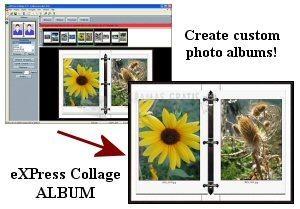 Pantallazo eXPress Collage Album