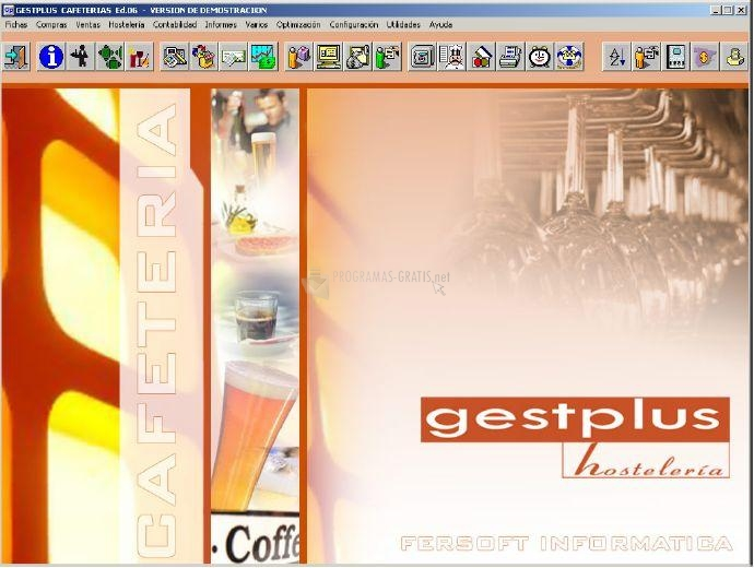 Pantallazo GestPlus Hostelería