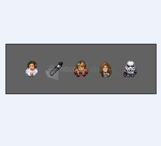 Pantallazo Iconos Star Wars Pack 2