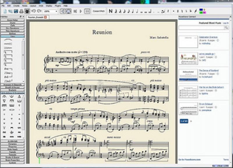 Pantallazo MuseScore