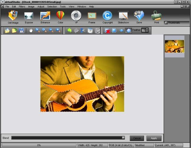 Pantallazo Virtual Studio