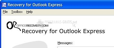 Pantallazo Recovery for Outlook Express