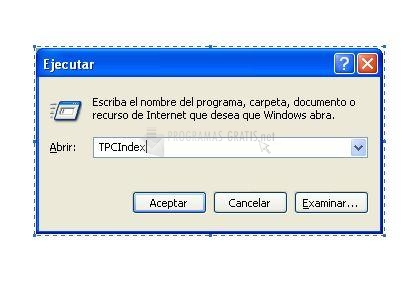 Pantallazo TCPindex
