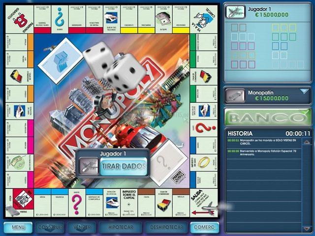 Pantallazo Monopoly Edición Especial 70 Aniversario