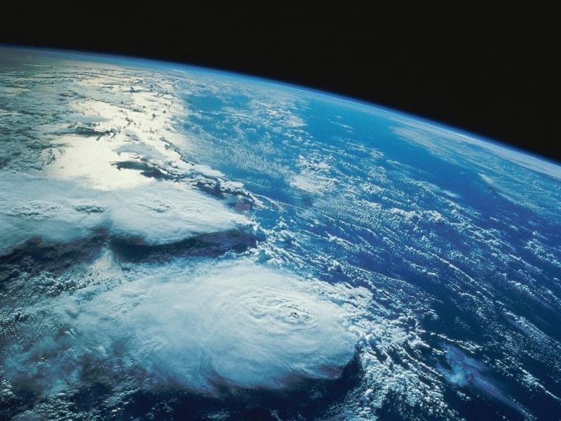 Pantallazo Amanecer desde el espacio II