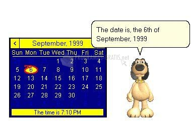 Pantallazo Speaking Calendar