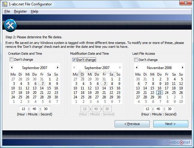 Pantallazo File Configurator