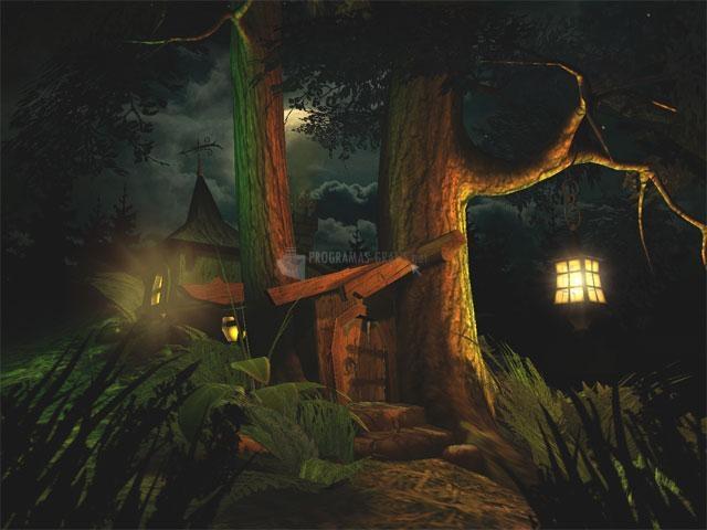 Pantallazo Fantasy Moon 3D Screensaver