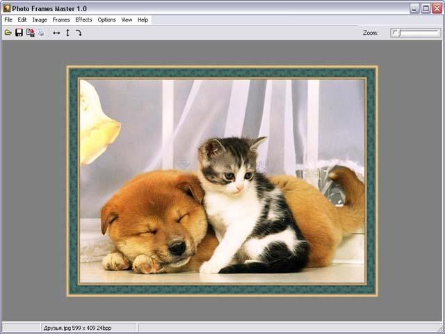 Pantallazo Photo Frames Master