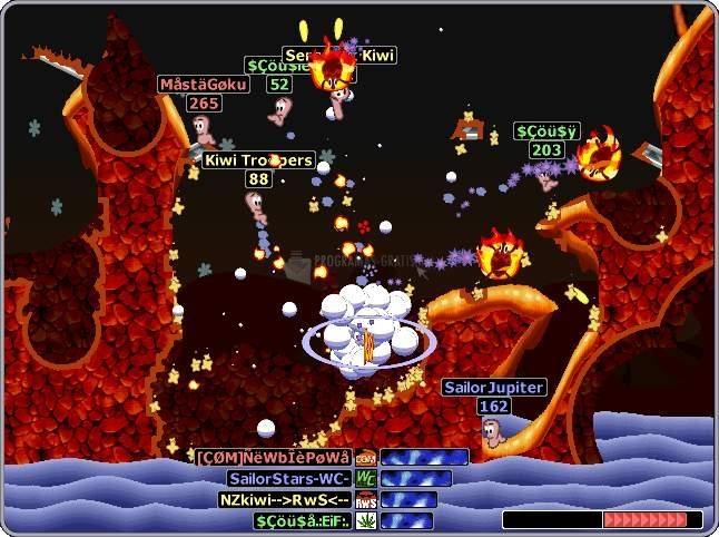 Pantallazo Worms Armageddon