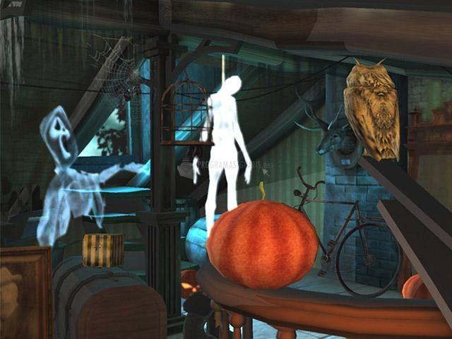 Pantallazo Halloween in the Attic 3D