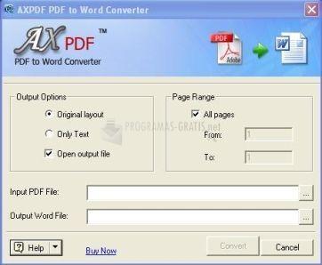 converter pdf to word gratis