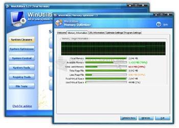 Pantallazo Vista Disk Cleaner