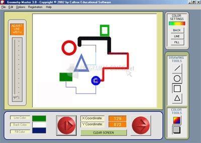 Pantallazo Geometry Master