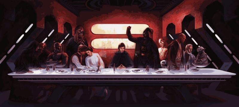 Pantallazo Star Wars Last Supper