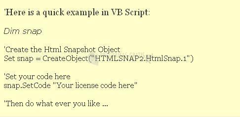 Pantallazo HTML Snapshot